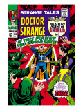 Strange Tales No.160 Cover: Dr. Strange and Baron Mordo Prints by Marie Severin