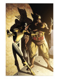 Wolverine: First Class 11 Cover: Wolverine and Shadowcat Print by David Williams