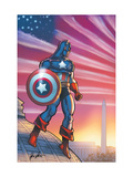 Captain America Theater Of War: America First! 1 Cover: Captain America Posters by Howard Chaykin