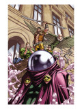 Doctor Doom And The Masters Of Evil 1 Group: Doctor Octopus Print by Patrick Scherberger