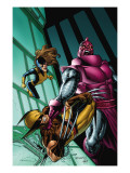 Wolverine: First Class No.3 Cover: Wolverine, Shadowcat and High Evolutionary Posters by Salvador Espin