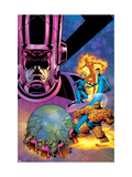 Fantastic Four V1 Cover: Galactus Poster by Mike Wieringo