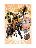 G.L.A. 4 Group: Squirrel Girl Art by Pelletier Paul
