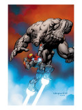 Ultimate Human 1 Cover: Iron Man and Hulk Prints by Nord Cary