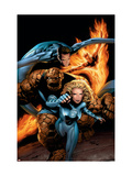 Ultimate Fantastic Four 21 Cover: Mr. Fantastic Posters by Land Greg