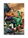Marvel Adventures Hulk 11 Cover: Hulk and Thing Print by Sean Murphy