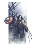 Ultimate War No.3 Cover: Wolverine Prints by Bachalo Chris