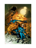 Fantastic Four No.523 Cover: Mr. Fantastic, Invisible Woman, Thing, Human Torch and Fantastic Four Posters by Mike Wieringo