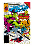 The Amazing Spider-Man 312 Cover: Spider-Man, Green Goblin and Hobgoblin Prints by Todd McFarlane