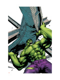 Marvel Adventures Hulk 2 Cover: Hulk Posters par Carlo Pagulayan