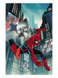 Timestorm 2009/2099: Spider-Man One-Shot 1 Cover: Spider-Man Fighting Poster by Paul Renaud