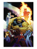 Ultimate Enemy 1 Cover: Spider-Man, Invisible Woman, Spider Woman, Human Torch and Iceman Art by McGuiness Ed