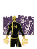 The Immortal Iron Fist No.6 Cover: Iron Fist, Randall and Orson Charging Posters by Aja David