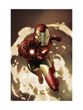 Iron Man No.4 Cover: Iron Man Prints by Granov Adi