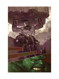 WWH Ahtersmash: Damage Control No.1 Cover: Hulk and Goliath Prints