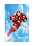 Iron Man: Iron Protocols #1 Cover: Iron Man Fighting Posters van Ariel Olivetti