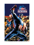 Captain America Reborn No.1 Cover: Captain America Art by Bryan Hitch