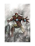Indomitable Iron Man No.1 Cover: Iron Man Poster par Lucio Parrillo
