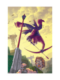 Hawkeye 6 Cover: Hawkeye Posters by Kolins Scott
