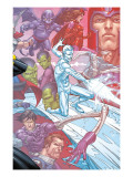 X-Men: First Class Finals 4 Cover: Iceman Print by Roger Cruz