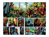 Secret Invasion No.1 Group: Iron Fist, Cage, Luke, Iron Man and Wonder Man Posters by Leinil Francis Yu