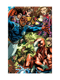 Dark Reign: Young Avengers 5 Group: Patriot Affiches par Mark Brooks