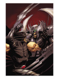 Cable No.14 Cover: Stryfe and Wolverine Posters by Kaare Andrews