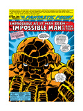 Fantastic Four No.176 Headshot: Thing Prints by George Perez