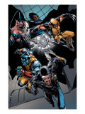 X-Men vs. Agents of Atlas 1 Group: Cyclops, Colossus, Wolverine, Storm, Emma Frost and Cloak Posters by Carlo Pagulayan