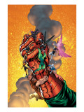 New Thunderbolts No.6 Cover: Baron Strucker, Radioactive Man, Songbird and New Thunderbolts Art by Tom Grummett