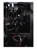 X-Force 23 Group: Archangel, Domino and Wolverine Poster von Clayton Crain