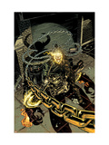 Ghost Rider 19 Cover: Ghost Rider Affiche par Mike Deodato Jr.