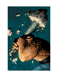 Marvel Knights 4 2 Cover: Thing Print by MCNiven Steve