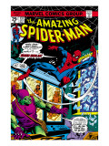 The Amazing Spider-Man No.137 Cover: Spider-Man and Green Goblin Kunstdruck von Ross Andru