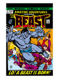 Amazing Adventures 11 Cover: Beast Poster by Gil Kane