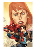 The Amazing Spider-Man 604 Cover: Spider-Man, and Peter Parker Print by Leinil Francis Francis Yu