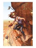 Amazing Fantasy No.5 Cover: Arana Print by Mark Brooks
