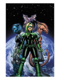 S.W.O.R.D. No.1 Cover: Brand, Abigail, Beast and Lockheed Prints by John Cassaday