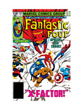 Fantastic Four No.250 Cover: Gladiator Prints by John Byrne