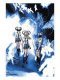 X-Men No.206 Group: Stepford Cuckoos Posters by Bachalo Chris