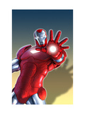 Marvel Adventures Iron Man No.11 Cover: Iron Man Prints