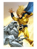 Vengeance of the Moon Knight 2 Cover: Moon Knight and Sentry Prints by Leinil Francis Francis Yu
