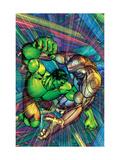 The Incredible Hulk No.91 Cover: Hulk and Godseye Art by Brandon Peterson