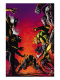 Wolverine: Origins No.29 Cover: Wolverine, Storm, Cyclops, Banshee, Colossus and Nightcrawler Prints by Mike Deodato Jr.