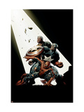 The New Avengers 2 Cover: Spider-Man, Captain America, Luke Cage Poster by David Finch
