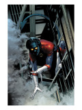Nightcrawler 1 Cover: Nightcrawler Swinging Prints by Land Greg