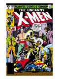 Uncanny X-Men No.132 Cover: Shaw, Sebastian, Wyngarde, Jason, Storm and Hellfire Club Print by Byrne John
