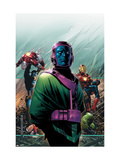 Young Avengers 4 Cover: Kang, Marvel Comics and Fantastic Four Poster by Jim Cheung