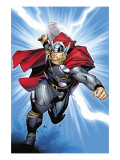 Thor No.6 Cover: Thor Print by Olivier Coipel