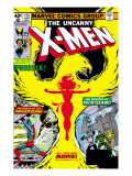 Uncanny X-Men No.125 Cover: Phoenix, Colossus, Storm, Madrox and Havok Print by Byrne John